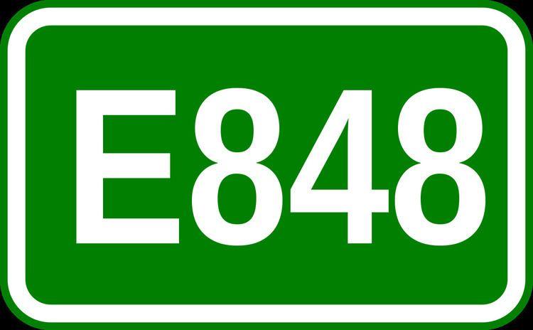 European route E848
