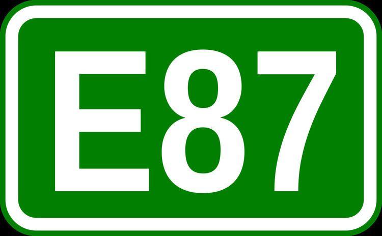 European route E87
