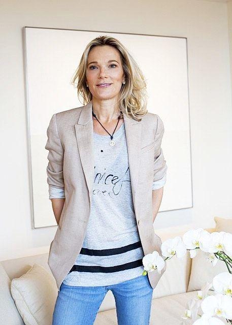 Eva Andersson Former Ford Model Dr Eva AnderssonDubin Opens Breast Cancer Center