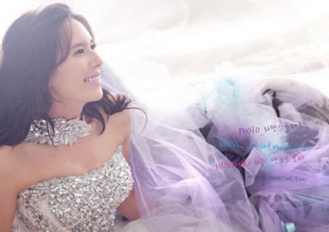 Eva Popiel Eva Popiel reveals her wedding pictorial photos allkpopcom