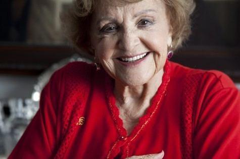Eva Todor Aos 94 anos Eva Todor est reclusa por causa de Parkinson