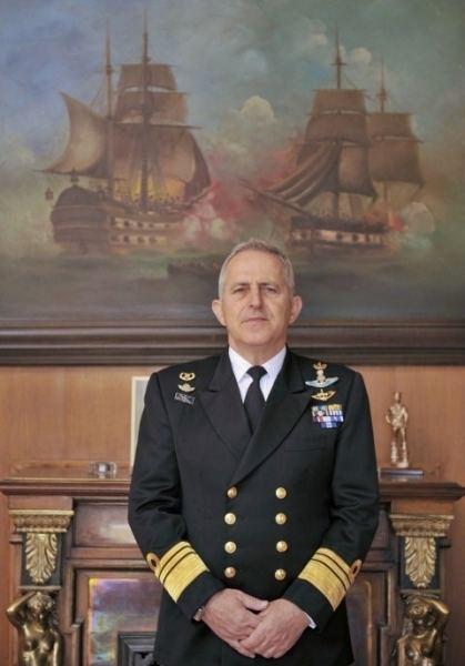 Evangelos Apostolakis Vice Admiral Evangelos