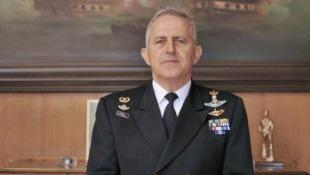 Evangelos Apostolakis The Chief of Hellenic Navy Evangelos Apostolakis praises the