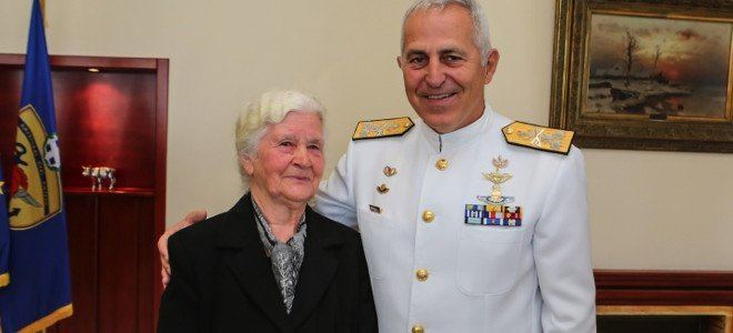 Evangelos Apostolakis Woman Honored for Tending to Greeces Second World War Graves