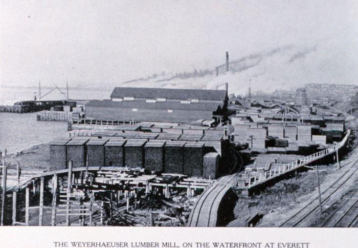 Everett, Washington in the past, History of Everett, Washington