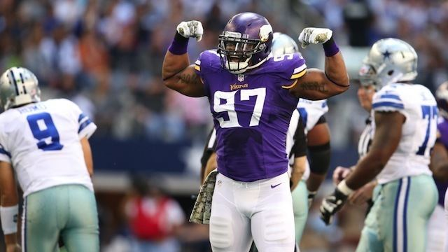 Everson Griffen Minnesota Vikings39 First Order Of Business Should Be Re