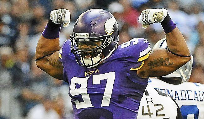 Everson Griffen Vikings New deal in hand Griffen ready to blossom