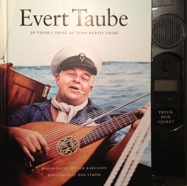 Evert Taube Release with Evert Taube songs Magnus Bge