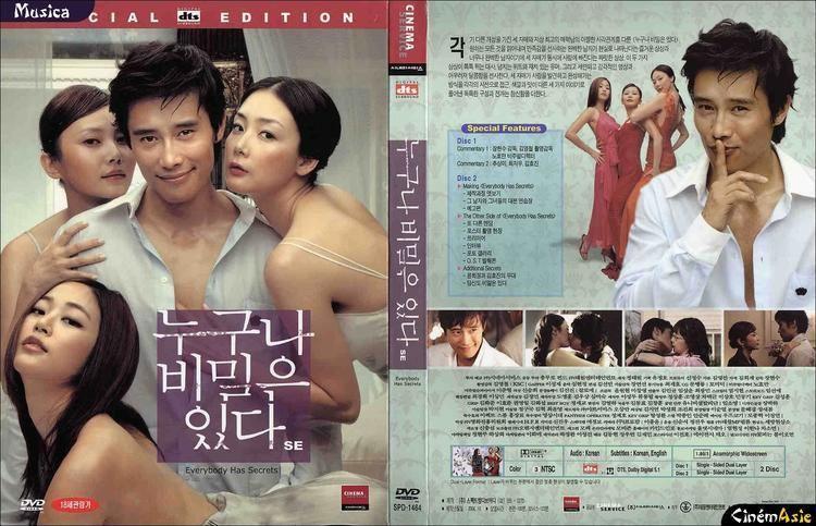 Everybody Has Secrets DVD Everybody has Secrets Cinema Service
