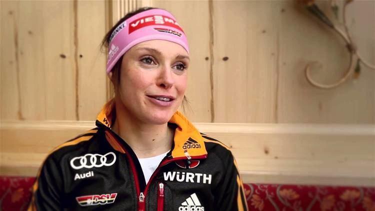 Evi Sachenbacher-Stehle Biathlon OlympiaInterview mit Evi SachenbacherStehle