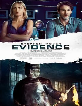 Evidence (2013 film) movie poster