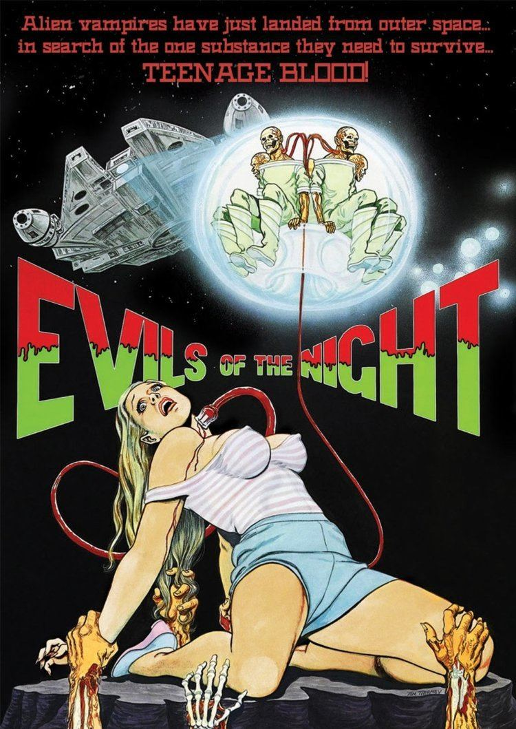 Evils of the Night Review EVILS OF THE NIGHT 1985 Icons of Fright Horror News