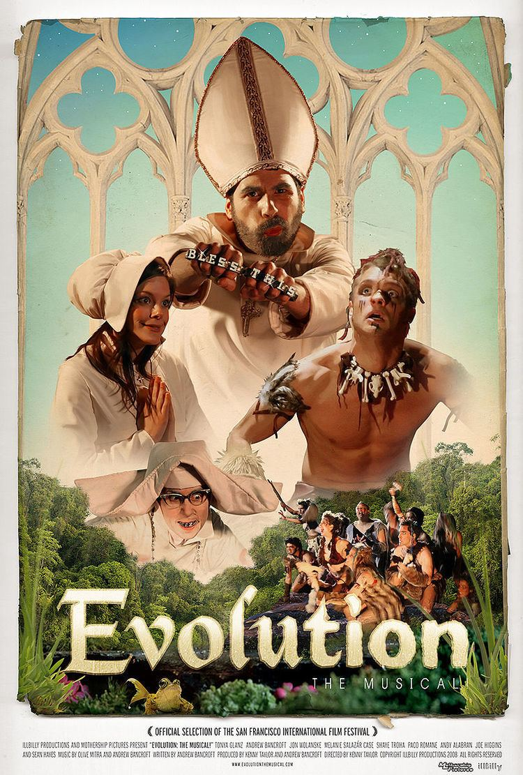 Evolution: The Musical! movie poster