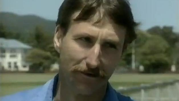 Ewen Chatfield (Cricketer) playing cricket