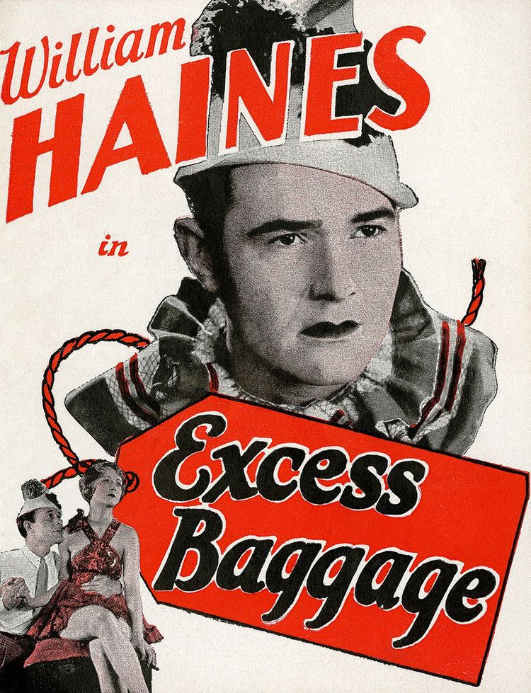 Excess Baggage (1933 film) Excess Baggage 1928 film Wikipedia
