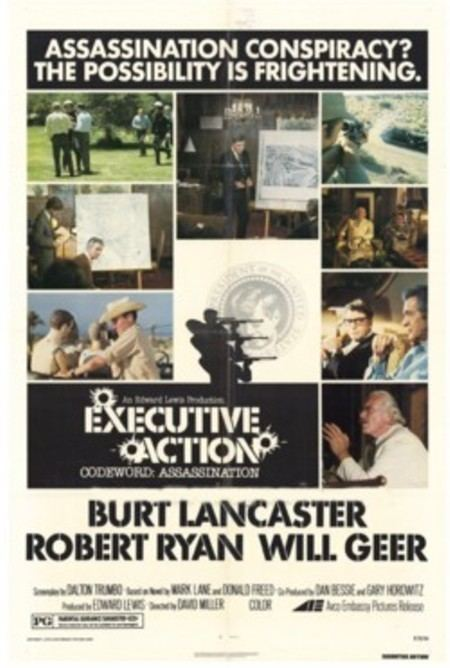 Executive Action (film) WARNERS TO RELEASE EXECUTIVE ACTION ON DVD Celebrating Films of