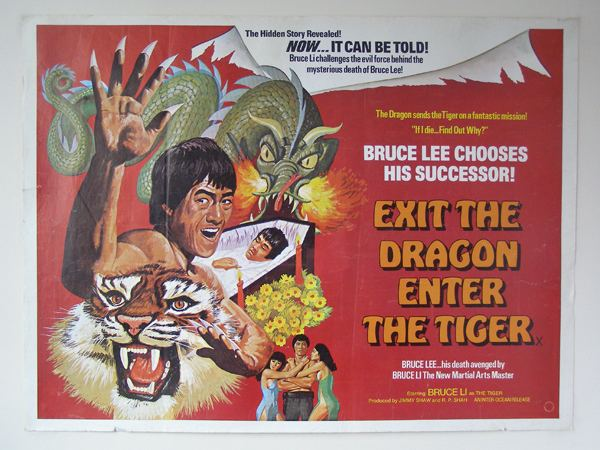 Exit the Dragon, Enter the Tiger The Movie Poster Company