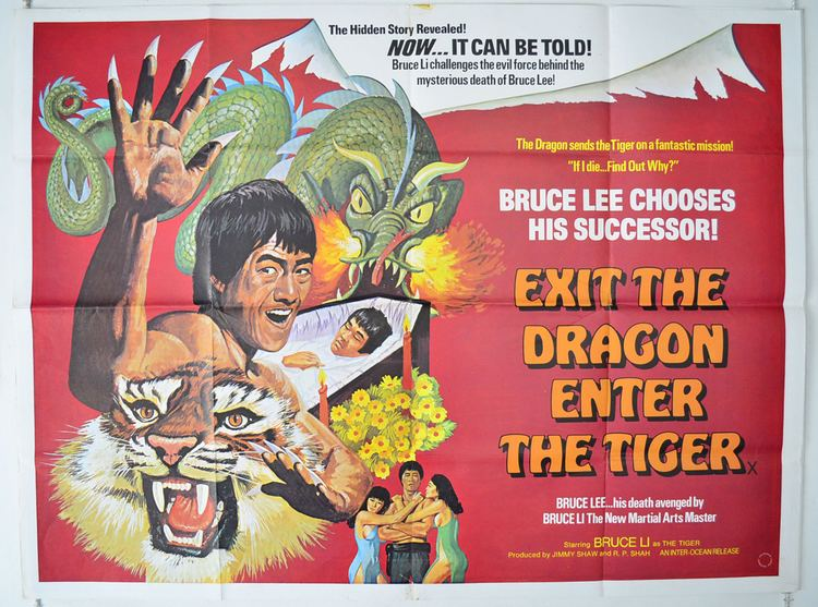 Exit the Dragon, Enter the Tiger Exit The Dragon Enter The Tiger Original Cinema Movie Poster From