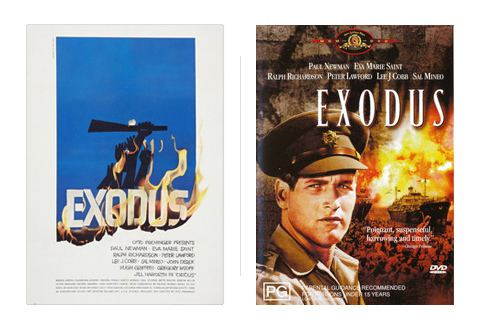 Exodus (1960 film) How Hollywood Butchered Its Best Movie Posters The Atlantic