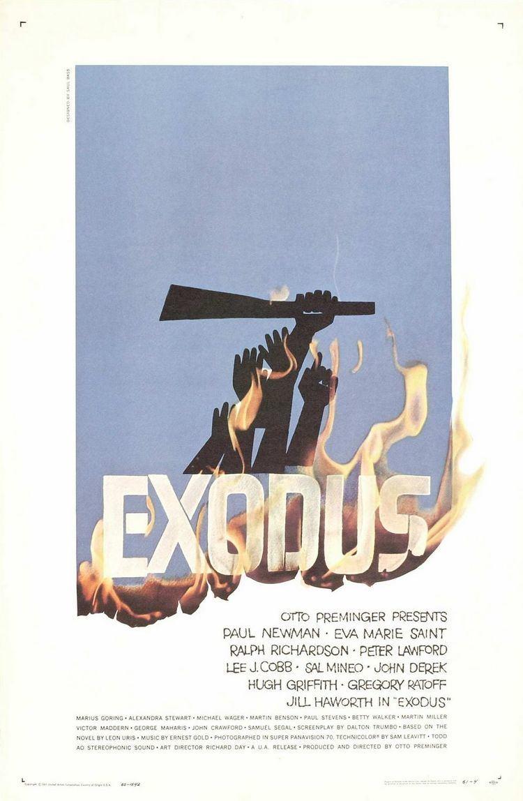 Exodus (1960 film) Exodus Movie Poster 1 of 4 IMP Awards