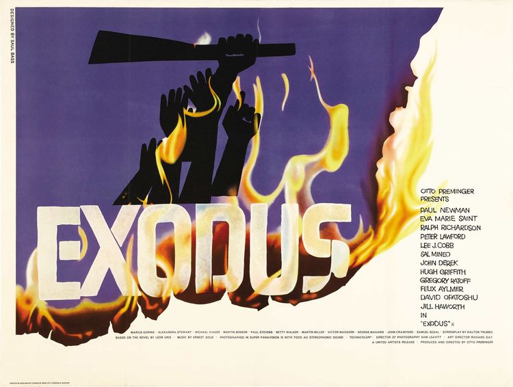 Exodus (1960 film) The Jewish Experience on Film The New York Blueprint