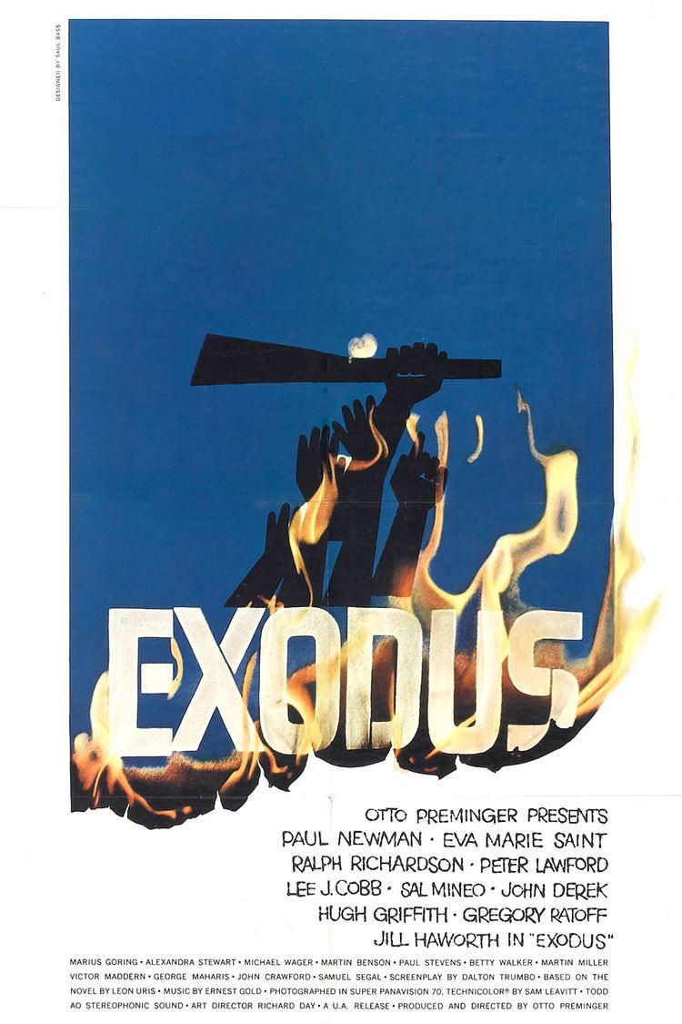 Exodus (1960 film) wwwgstaticcomtvthumbmovieposters5797p5797p