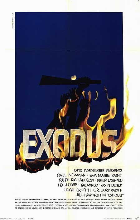Exodus (1960 film) Exodus 1960 film Wikipedia