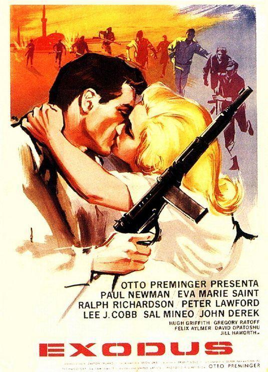 Exodus (1960 film) Exodus Movie Poster 4 of 4 IMP Awards