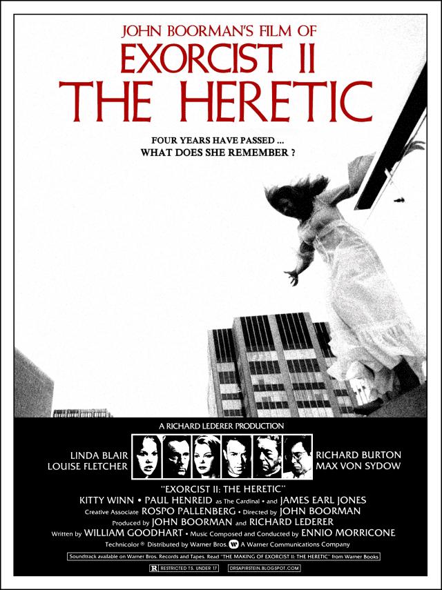 Exorcist II: The Heretic EXORCIST II THE HERETIC Blu Ray Version 20 Original Trilogy
