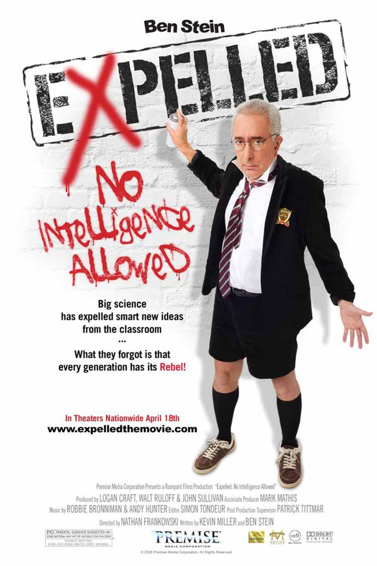 Expelled: No Intelligence Allowed wwwgstaticcomtvthumbmovieposters174629p1746