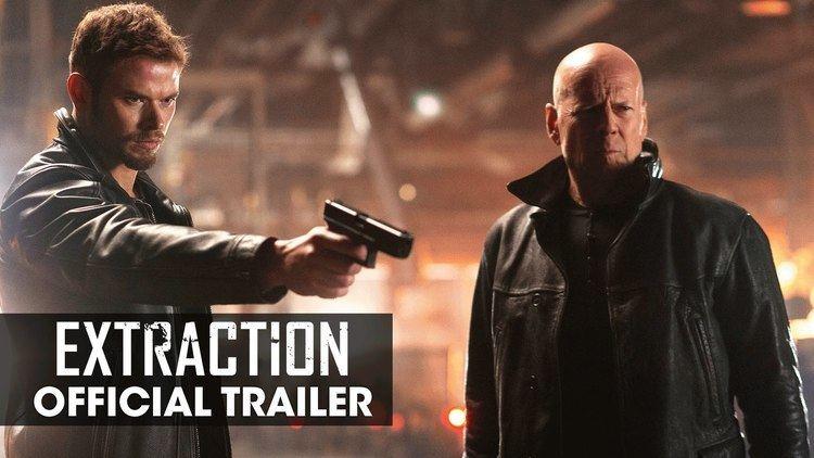 Extraction (film) EXTRACTION 2015 Movie Bruce Willis Kellan Lutz Gina Carano