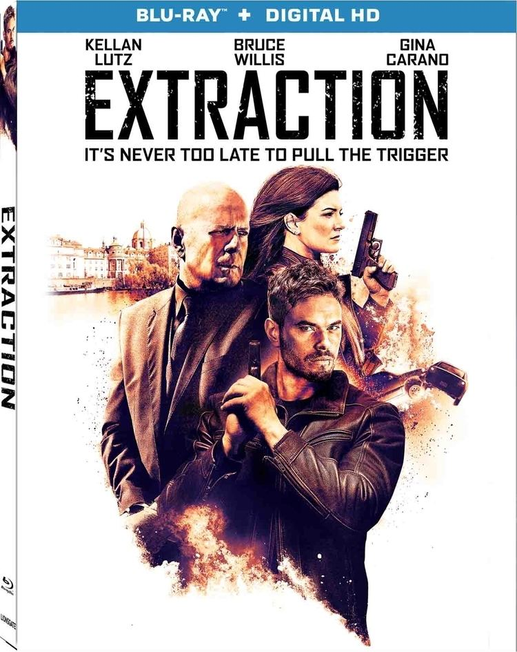 Extraction (film) Extraction Bluray