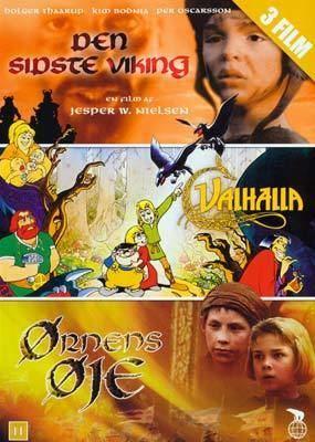 Eye of the Eagle Den sidste viking Valhalla rnens je DVD Laserdiskendk