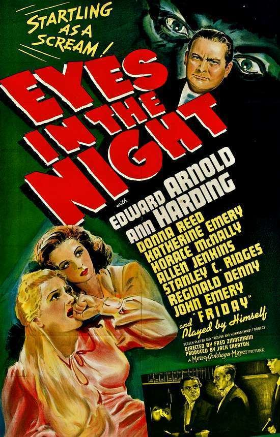 Eyes in the Night Film Noir Friday Eyes in the Night 1942 Deranged LA Crimes