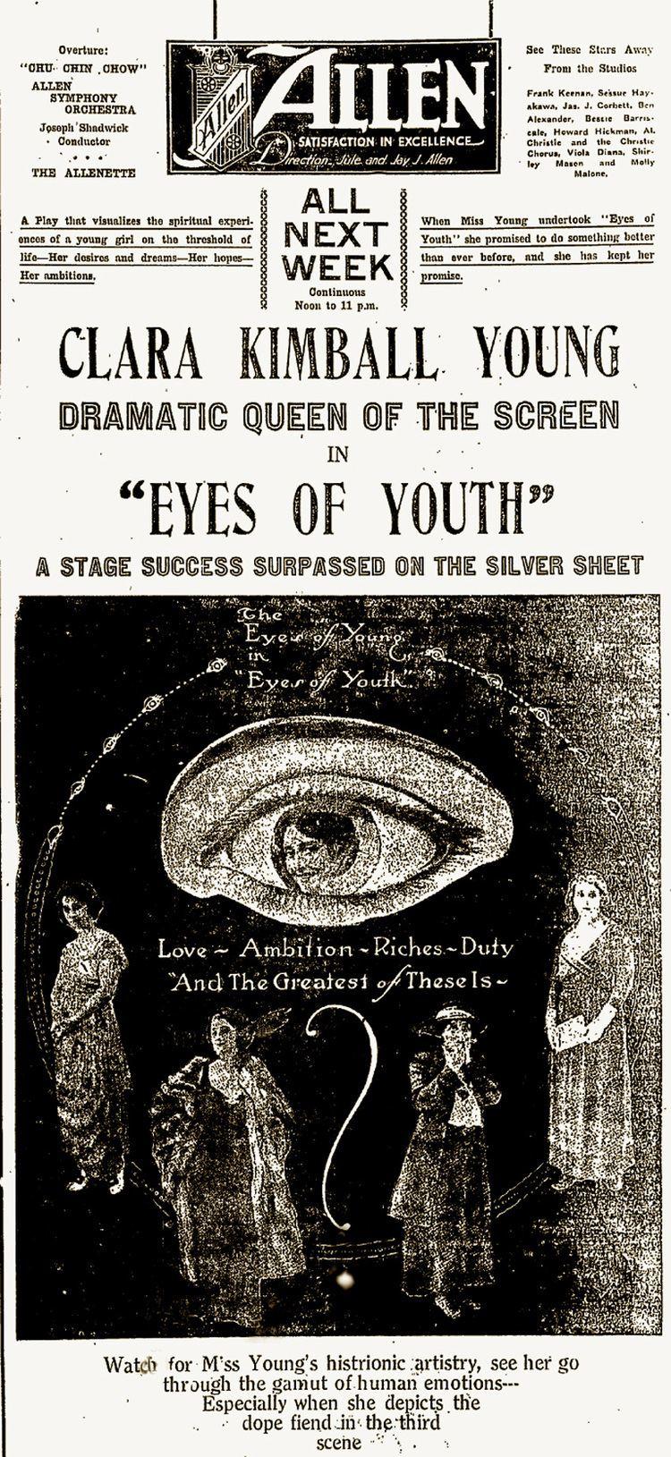 Eyes of Youth Eyes of Youth
