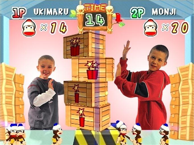 EyeToy: Monkey Mania EyeToy Monkey Mania Review