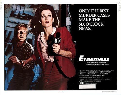 Eyewitness (1981 film) Eyewitness movie posters at movie poster warehouse moviepostercom