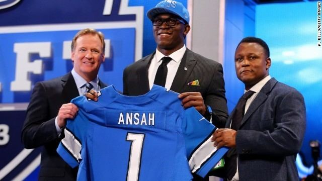 Ezekiel Ansah NFL Draft 39Ziggy39 Ansah39s gridiron journey sprinkled with
