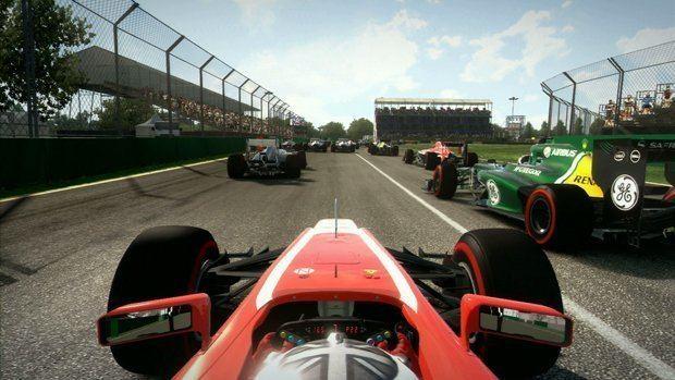 Formula 1 video game xbox 360