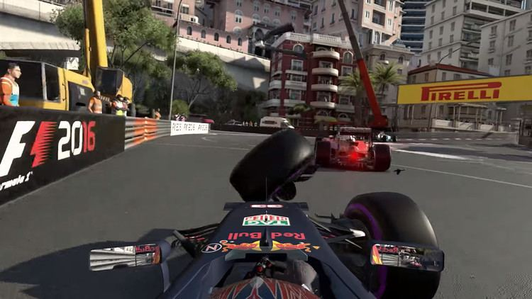 F1 2016 (video game) Motorburn What39s new and overhauled in F1 2016 video game