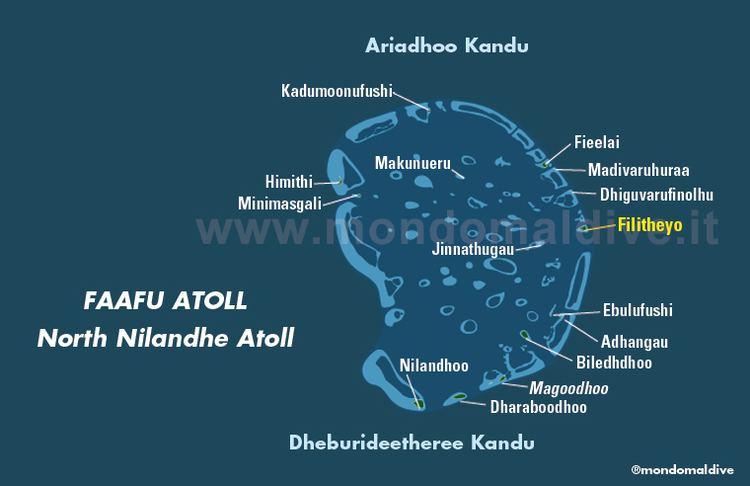 Faafu Atoll Map of Faafu Atoll in Maldives