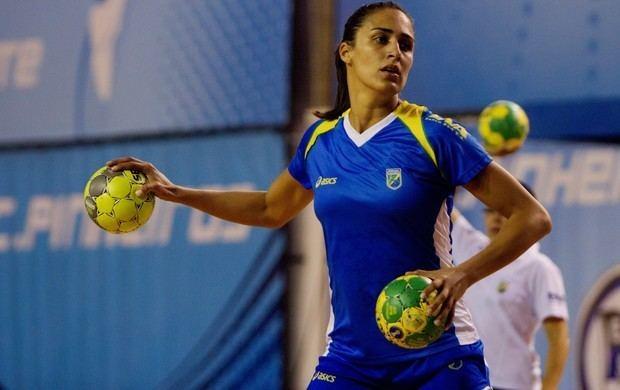 Fabiana Diniz Capit da seleo de handebol quer orgulhar o Brasil em Londres