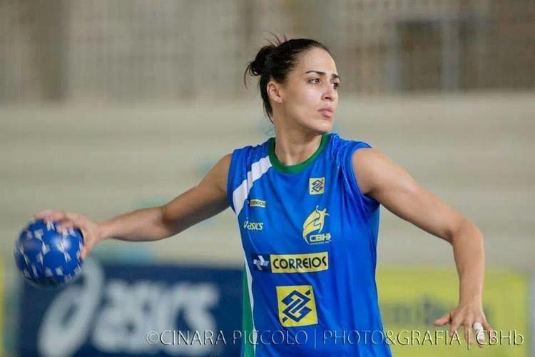 Fabiana Diniz Dara Diniz no participar do Pan para tratar problema de sade