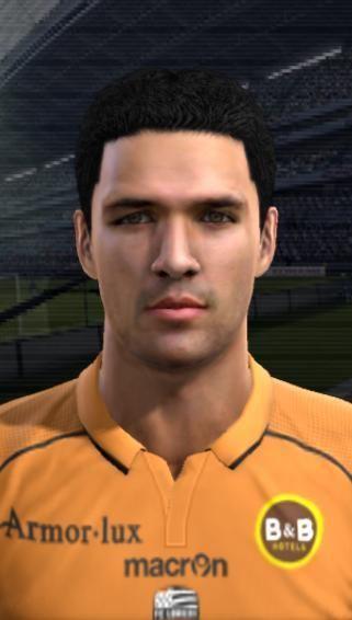 Fabien Robert Faces by bradpit62 PESFaces Download realistic faces