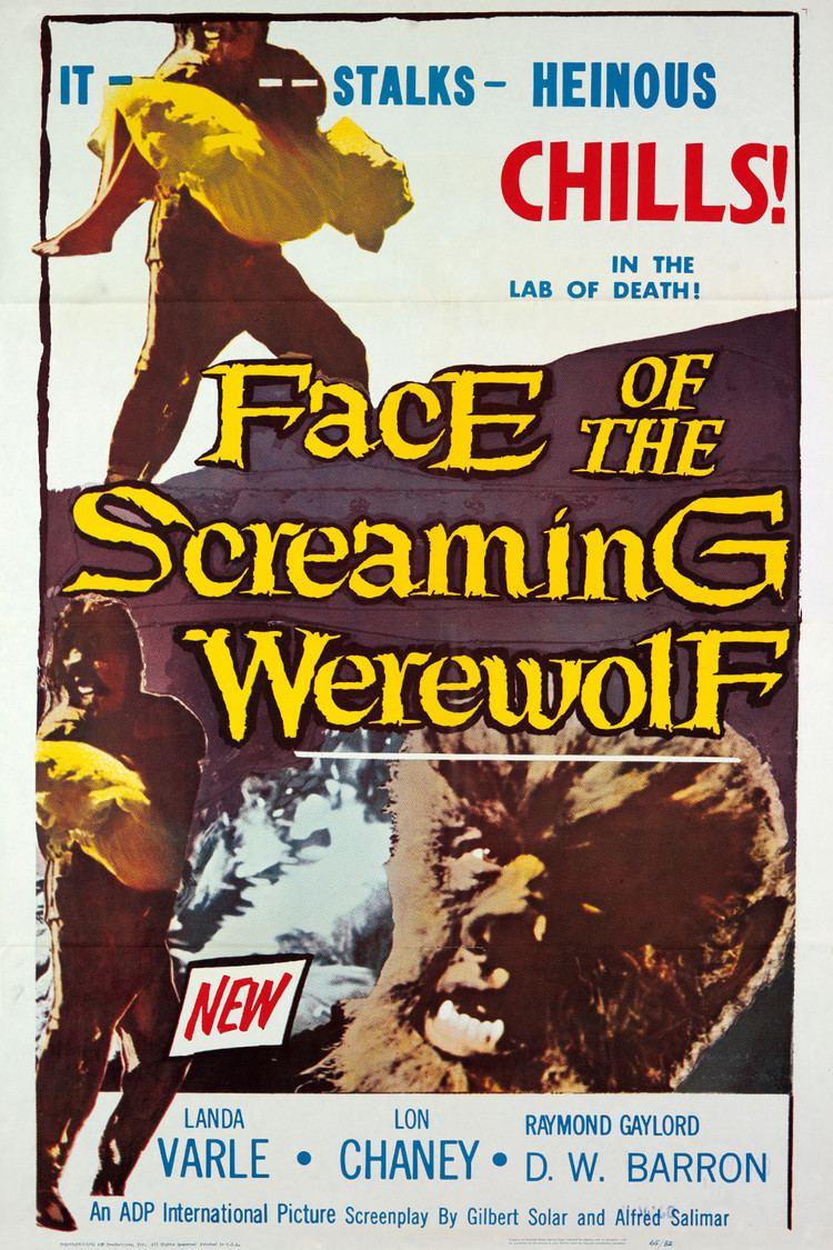 Face of the Screaming Werewolf wwwgstaticcomtvthumbmovieposters49332p49332