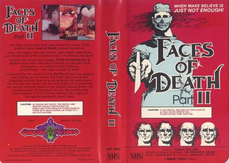 Faces of Death II Faces of Death II shockumentary 1981 HORRORPEDIA