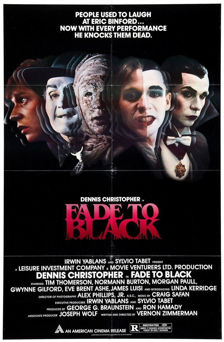 Fade to Black (1980 film) Fade to Black 1980 D Vernon Zimmerman Apollo Twin