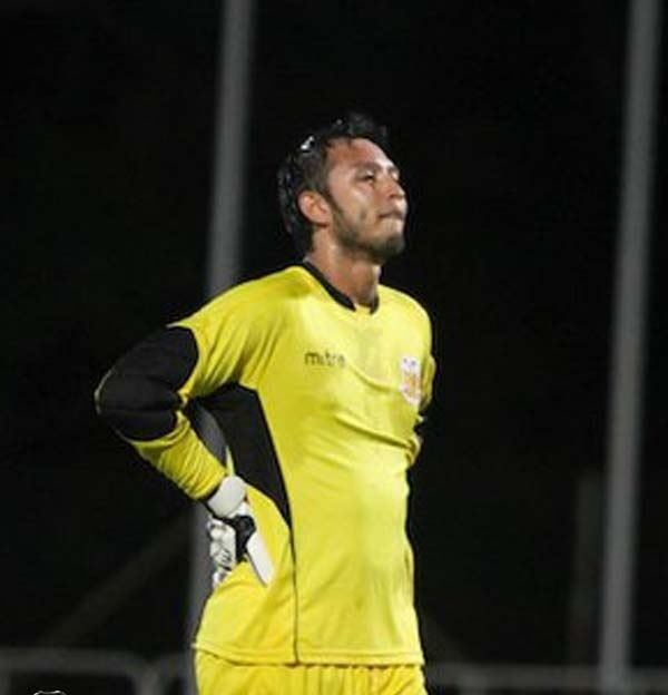 Fadhil Salim Goalcoms SLeague Best XI 2012 Goalkeeper Fadhil Salim Goalcom