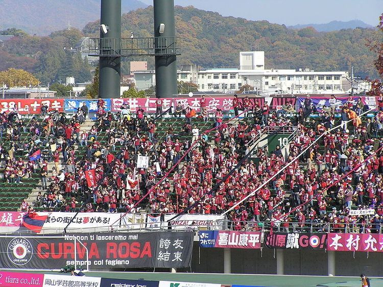 Fagiano Okayama Fagiano Okayama Football Club Wikipedia
