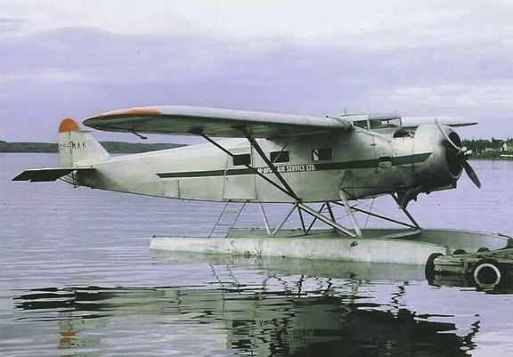 Fairchild 82 The Queen of the Hurricanes gt Vintage Wings of Canada